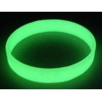 China Glow In Night Personalized Silicone Bracelets For Kids And Teenages on sale