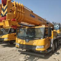 CIVL 50 Tons Hydraulic Mobile Truck Telescopic Boom Crane Especialy For Exporting Manufactures