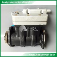 Genuine Dongfeng Cummins ISLe Engine Double-Cylinder Air Compressor 4945947 5286681 3939906 3966524 3976374 5272391 Manufactures