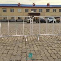 China Traffic Fence Barrier Welded Wire Mesh Fence Panels For Temporary Fencing on sale