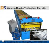 Buy cheap PLC Control System Floor Decking Forming Machine , Metal Rolling Machine Pass CE from wholesalers