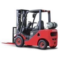 China 2.5 Ton LPG Forklift Truck / 3m Mast Stacking Heavy Duty Forklifts on sale