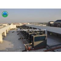 Water System Central Air Conditioner Heat Pump Two Joints Heating And Cooling Manufactures