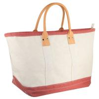 Coral XL Womens Beach Bag Tote Utility Luxury Sandless Structured Sturdy