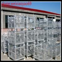 industrial storage  wire container cage/security cage /pallet cage/wire security cage/metal storage sheds(10% discount) Manufactures