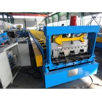 1250mm feeding Width Sheet Forming Machine , 915 / 960 Metal Deck roll Forming Machine Manufactures