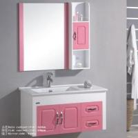 Buy cheap Modern White Bathroom Cabinet from wholesalers