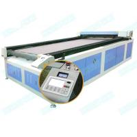 Buy cheap Textile laser cutting DT-1630 safa fabric auto-feed fabric CO2 laser cutting from wholesalers