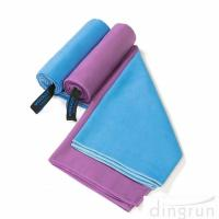 Quick Dry Super Absorbent Lightweight Microfiber Towel for Swimming Yoga Beach Manufactures