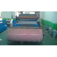 Customized Color Nonwoven Carding Machine Stiff Waddings And Glue Free / Thermal Bonded Waddings Manufactures