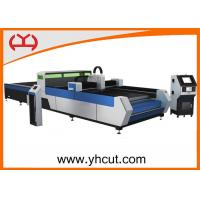 Low Noise Table CNC Fiber Laser Cutting Machine For Sheet Metal Processing Manufactures
