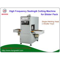 Buy cheap Semi Automatic HF Sealing and Cutting Machine with Shuttle Tray for Toothbrush from wholesalers