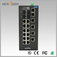 Buy cheap 18 Electric port + 4 Gigabit FX fiber optic 28 Port Switch , Industrial Ethernet from wholesalers