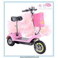 3 wheel electric mobility scooter for old handicapped people with seat three wheels Manufactures