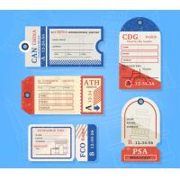 Personalized custom Printable Luggage Tags for baggage printing service Manufactures