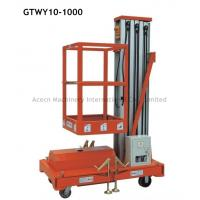 Aluminium Personal Lift  with Lifting Height 10.0m,Capacity 125kg Manufactures