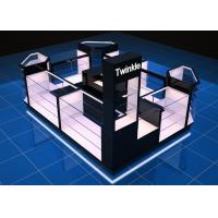 Healthy Material Jewellery Display Cabinets / Shopping Mall Kiosk Large Capability Manufactures