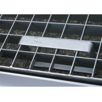 ISO9001 Pressure Locked Steel Grating Saddle Clip Fixed Integrated Type Manufactures