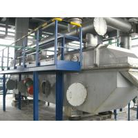 Vibro Fluid Bed Powder vibrating Dryer Machine For Cellulose Acetate Butyrate Electrical Heating Manufactures