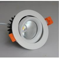 China 12 Watt CREE COB Led Ceiling Downlights Dimmable For Hotel / Bathroom / Office on sale