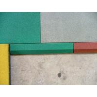 Outdoor Playground Rubber Mats 50 x 50 x 2.5 cm Shockproof Colorful Manufactures