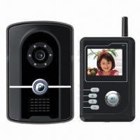 Wireless video intercom with built-in backup battery and RFID card readers Manufactures