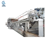 China 1092 Raw material waste paper waste carton paper recycling machine karton recycling machine on sale