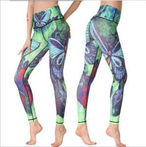 China factory wholesale custom sublimation yoga leggings for ladies Manufactures