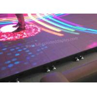 Acrylic LED floor tile Display SMD 2727 P3.91 P4.81 P5.2 P6.25 Aluminum Panel Material Manufactures