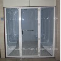 Acrylic Wet Steam Sauna Room , Luxury 6 Person Home Steam Room 3640 * 1800 * 2150mm Manufactures