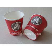 Unfolded 10oz LOGO Printed Double Wall Paper Cups For Coffee / Beverage for sale