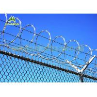 Flat Wrap Concertina Razor Wire Corrosion Resistance For Industrial Security Fence Manufactures