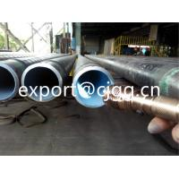 China Round Corrosion Resistant Pipe Internally Lined With Amine Cured Epoxy wholesale