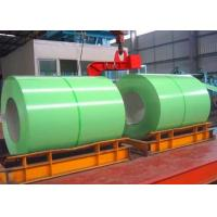 China Thickness 0.14 - 1.5mm Color Coated Steel Coil JIS G3312 DX51D AZ PE For Roofing on sale