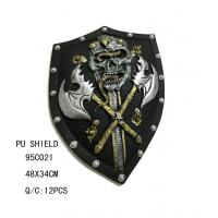 China foam skeleton head with double axe shield 95C021 on sale