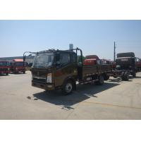 1880 Cab Small Cargo Truck, 5995×2150×2450mm 4x2 HOWO Light Truck RHD Steering Manufactures