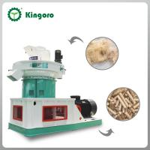 China top supplier vertical ring die wood pellet machine Manufactures