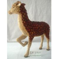 Quality Handicraft deer,Size:85×25×108cm,Natural material Easter day decoration and home for sale