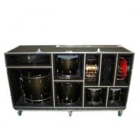 large drum flight case with foamed inside Manufactures