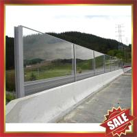 PC board,polycarbonate sound barrier,clear sound barrier,transparent sound barrier for highway,free way,avenue,boulevard Manufactures