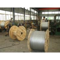 Lightweight 45# 55# Zinc Coated Steel Guy Wire For Overhead Transmission Lines Manufactures