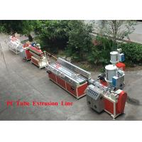 PC / PE / ABS Single Screw Plastic Profile Extrusion Line 15 KW Motor Power Manufactures