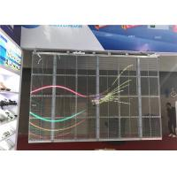 Flexible Transparent LED Wall , Transparent LED Display Screen for Christmas Event Manufactures