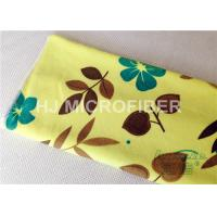 China Custom Printed Microfiber Cloths Towels For Face / Hand Drying , Cleaning Rags on sale