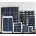 Mono-crystalline silicon solar module 5W,10W,20W,25W,30W,40W,50W,60W,70W,80W,90W,120W,130W,160W,170W Manufactures