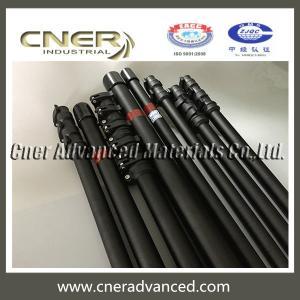 Brand CNER 50FT telescopic Water Rescue Poles / Carbon Fiber Tubes/ extension pole Manufactures