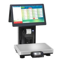 15kg Touch Screen Barcode Weighing Scales / Electronic Cash Register Manufactures