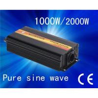 Hot sell Pure sine wave 1000w power inverter(DC12V to AC220V) Manufactures