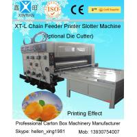 China Recycled Cardboard Box Paper Carton Making Machine For Packaging Printing on sale