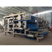 Continuous / Automatic Sludge Belt Filter Press For Cassava Dewatering Manufactures